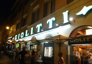 Giolitti Rome travel guide sincerely amy