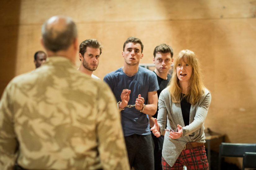 RSC Titus Andronicus rehearsals