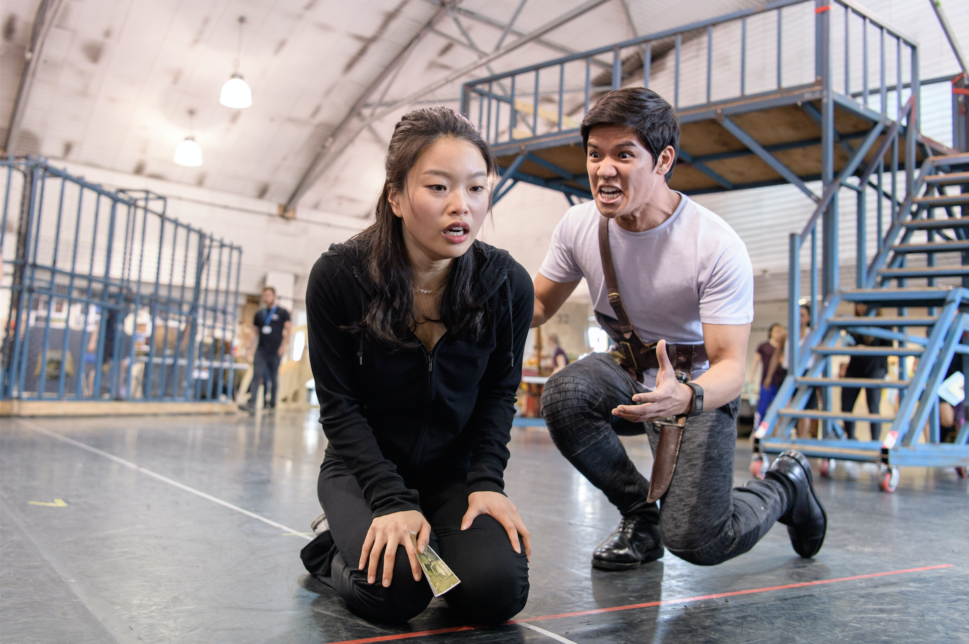 INSIDE | The Heat is on in the Miss Saigon UK Tour Rehearsal Room - Sincerely, Amy